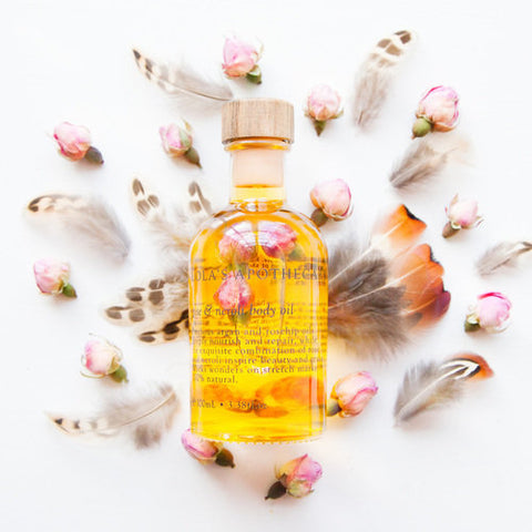 Divine Grace Regenerative Body & Massage Oil by Madia & Matilda on OOSTOR.com
