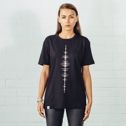 Spinewave T-Shirt by Tomoto on OOSTOR.com