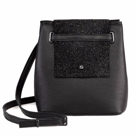 Mini Glitter Bucket Bag by Maria Maleta on OOSTOR.com
