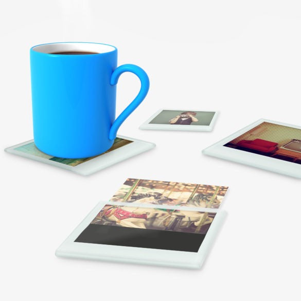 Instant Coasters by Mustard Gifts on OOSTOR.com