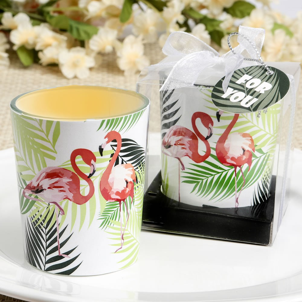 Flamingo Votive Candle Holder by Sole Favors on OOSTOR.com