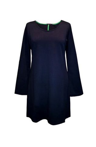 Navy Blue Pomegranate Tunic by Bubala