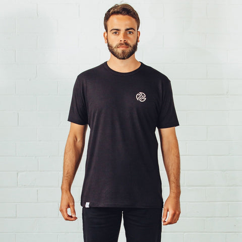 Classic Black T-Shirt by Tomoto on OOSTOR.com