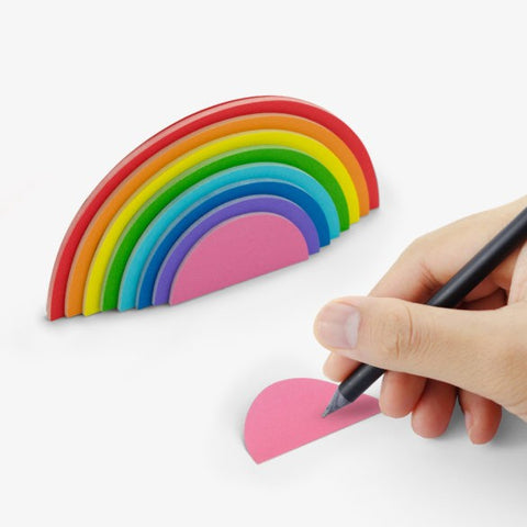 Rainbow Sticky Notes by Mustard Gifts on OOSTOR.com
