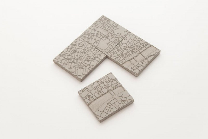 London Fragments - Concrete Coasters