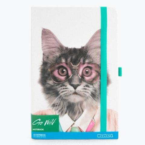 Cat Go Wild Notebook by Mustard Gifts on OOSTOR.com
