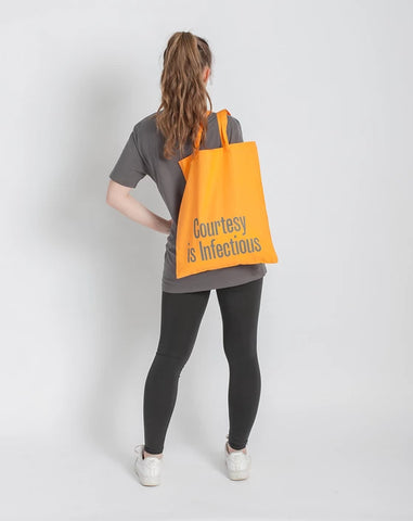 Wellcome Collection Good Advice Yellow Tote Bags