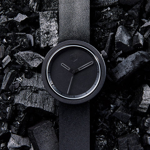 The Masonic Wrist Watch - Charcoal Black by IntoConcrete Inc on OOSTOR.com