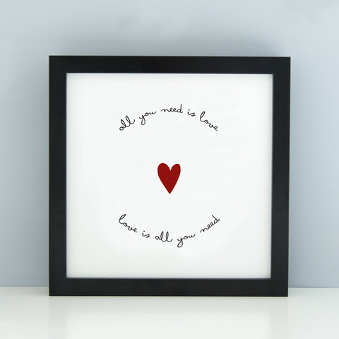 All You Need is Love' Print_Leonora Hammond_OOSTOR.com