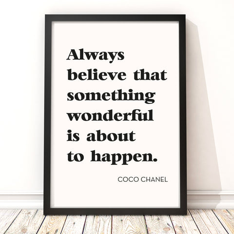 Always believe something wonderful is about to happen' Print_Leonora Hammond_OOSTOR.com