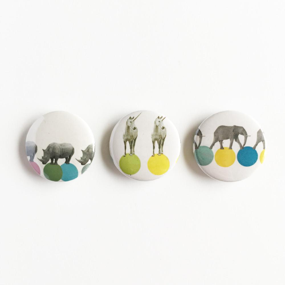 Badge Set - Animal Magic by Cassia Beck on OOSTOR.com