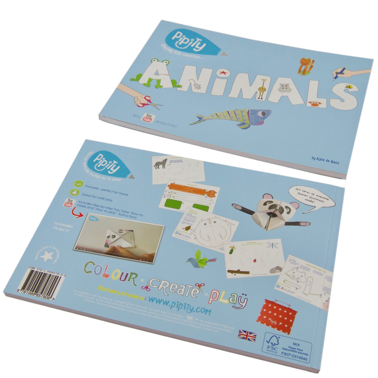 Travel Activity Book - Animals by Pipity on OOSTOR.com