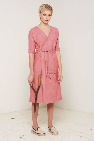 Antonia Wrap Dress by Bo Carter on OOSTOR.com