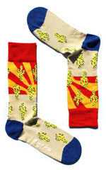 Arizona Bamboo Sock by Huxley sock co on OOSTOR.com