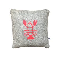 Lennie Lobster Cushion by Burch and Brown available on OOSTOR.com