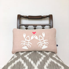 Lobster Love Cushion