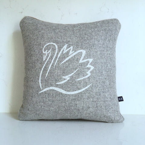 Sally Swan Cushion by Burch and Brown on OOSTOR.com
