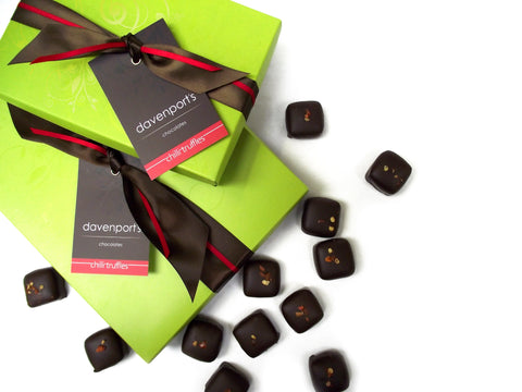 Chilli Truffle box by Davenports on OOSTOR.com