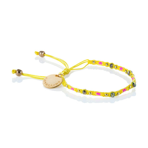 Social Impact - Friendship Bracelet (Yellow)