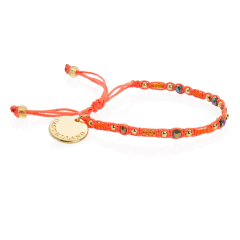 Social Impact - Friendship Bracelet (Orange)