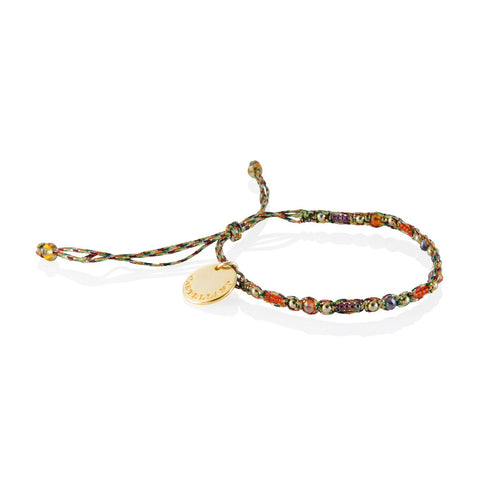 Social Impact - Friendship Bracelet (Gold/Brown)