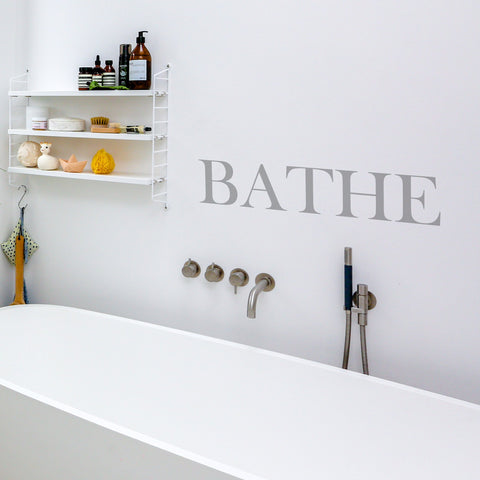 Bathe Wall Sticker