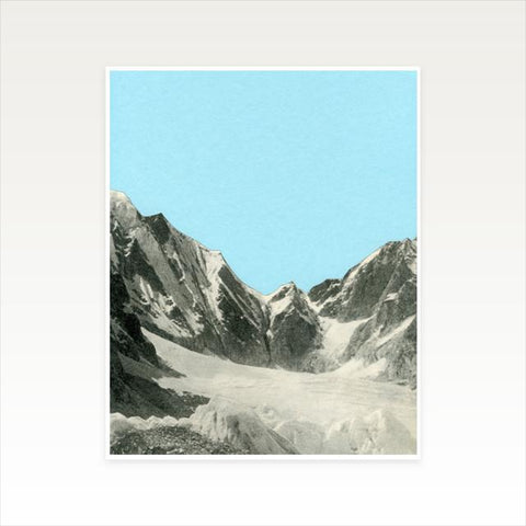 Blue Skies Art Print by Cassia Beck on OOSTOR.com