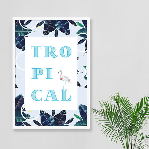 Tropical Excitement Print