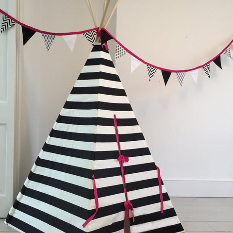 PINK BUNTING by Wildfire Teepees on OOSTOR.com