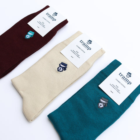 Walu Mens Socks - Three Pack by Tramp Menswear on OOSTOR.com