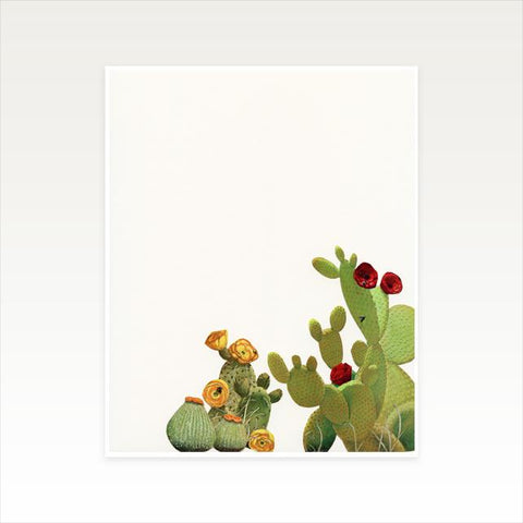 Cactus Garden II Art Print by Cassia Beck on OOSTOR.com