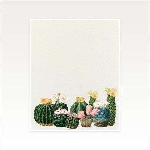 Cactus Garden Art Print by Cassia Beck on OOSTOR.com