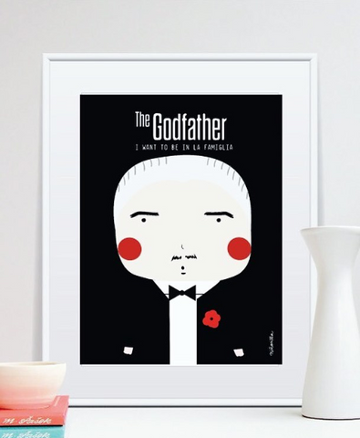 Little Godfather Print