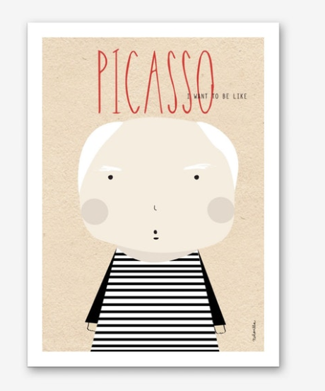 Little Picasso Print