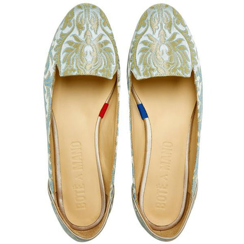 Caspian Waves Flat Shoes