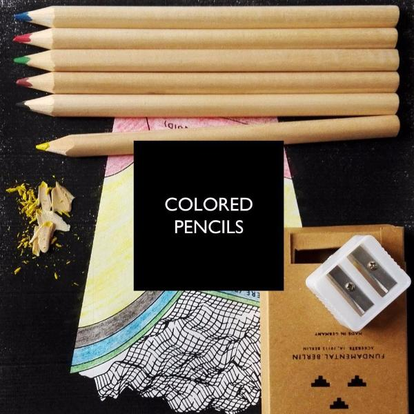 Adult Colouring Book by Fundamental Berlin on OOSTOR.com