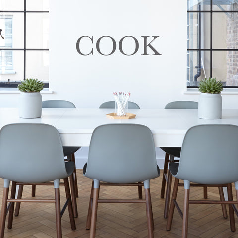 COOK' Wall Sticker
