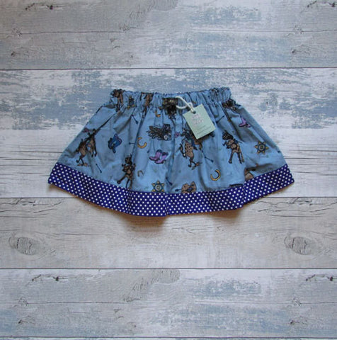 Girls Cowgirl Skirt