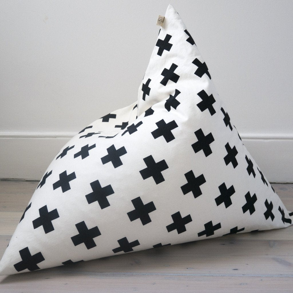 CROSS PYRAMID BEAN BAG by Wildfire Teepees on OOSTOR.com