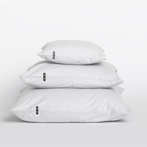 Set of 2 White Pure Cotton Pillow Cases by HOP Design on OOSTOR.com