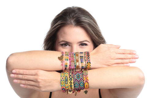 Gold Friendship  - Wayuu Bracelet