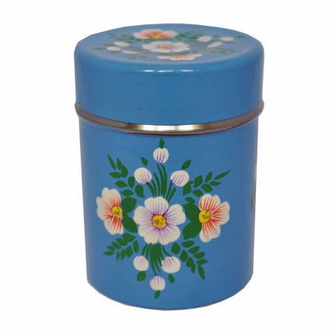 Azure Blue Tea Caddy by Jasmine White on OOSTOR.com
