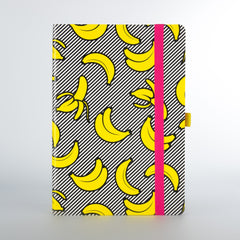 Banana Notebook by Mustard Gifts on OOSTOR.com