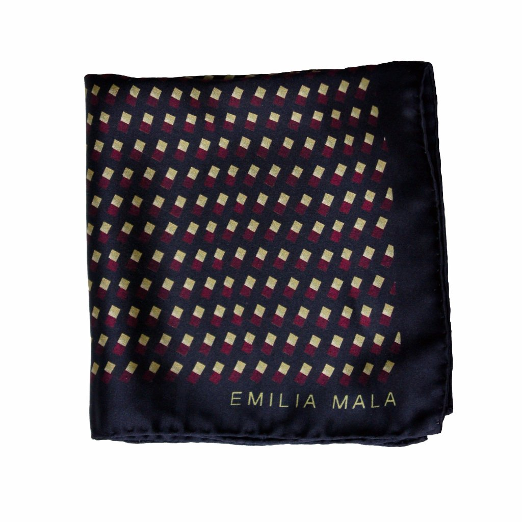 Algebra Pocket Square by Emilia Mala on OOSTOR.com