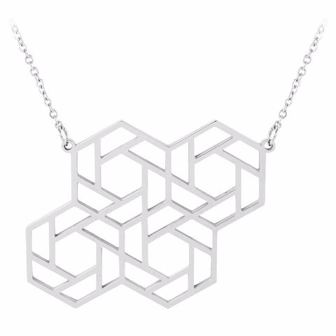 Four Hex Pendant by ESA EVANS on OOSTOR.com
