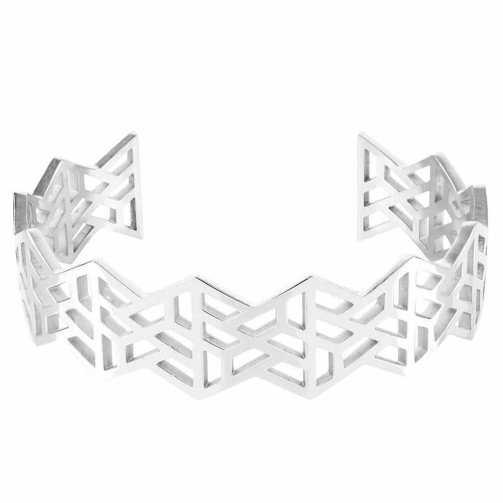 Geotriangle Cuff by ESA EVANS on OOSTOR.com