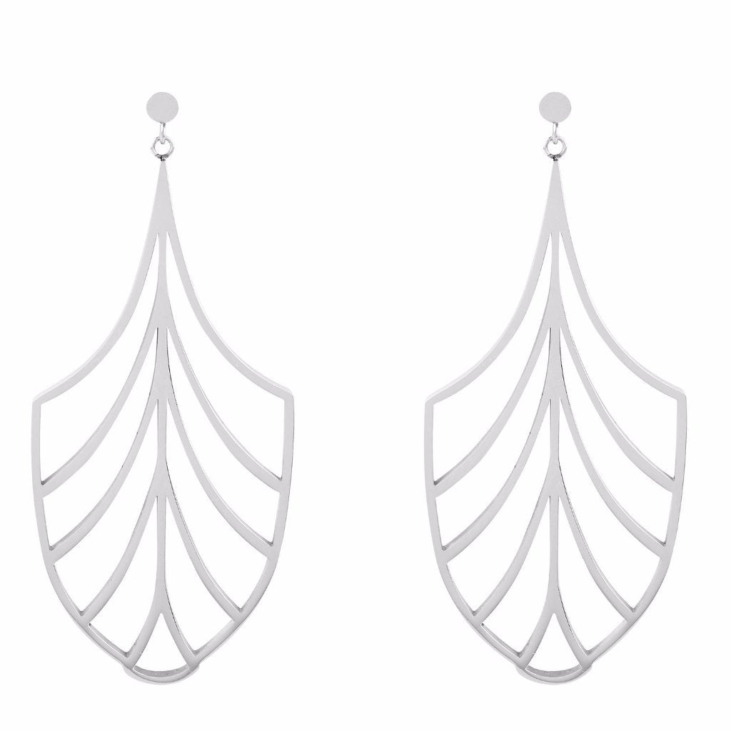 Chandelier Deco Drop Earrings by ESA EVANS on OOSTOR.com