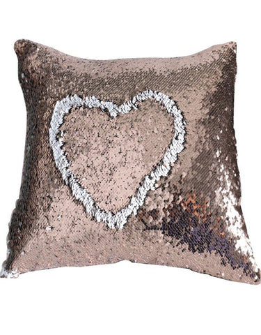 Champagne Gold White Mermaid Cushion by Mermaid Pillow Shop on OOSTOR.com