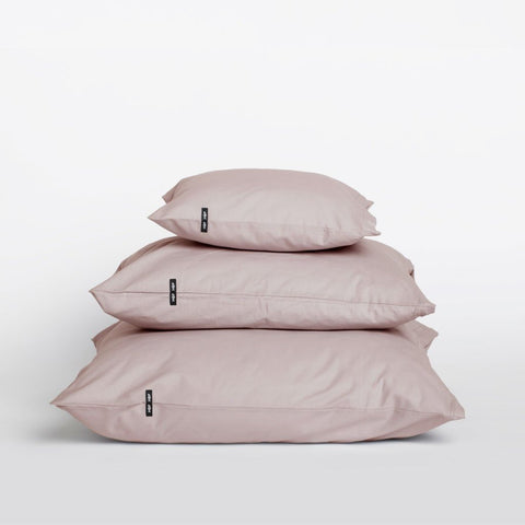 Set of 2 Dusty Pink Pure Cotton Pillow Cases by HOP Design on OOSTOR.com