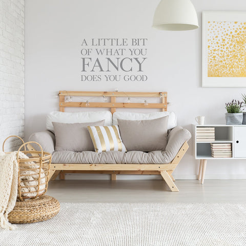 A Little Bit of What You Fancy' Wall Sticker_Leonora Hammond_OOSTOR.com